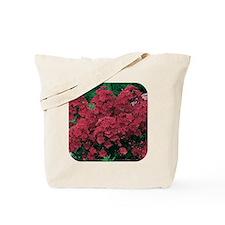 Phlox Dark Red Tote Bag