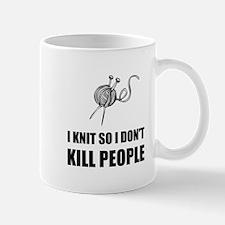 Knit Kill People Mugs