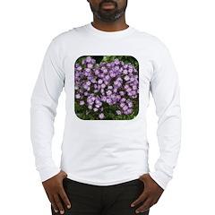 Phlox Lilac Edge Long Sleeve T-Shirt