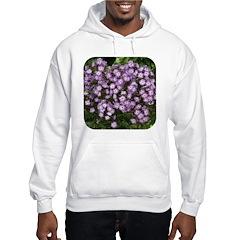 Phlox Lilac Edge Hooded Sweatshirt