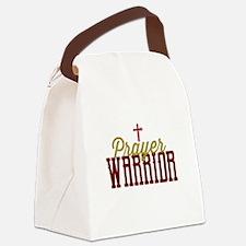 Prayer Warrior Canvas Lunch Bag