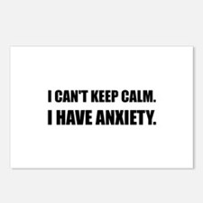 Keep Calm Anxiety Postcards (Package of 8)