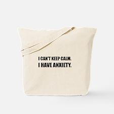 Keep Calm Anxiety Tote Bag