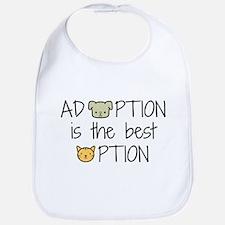 Adoption: Best Option Baby Bib