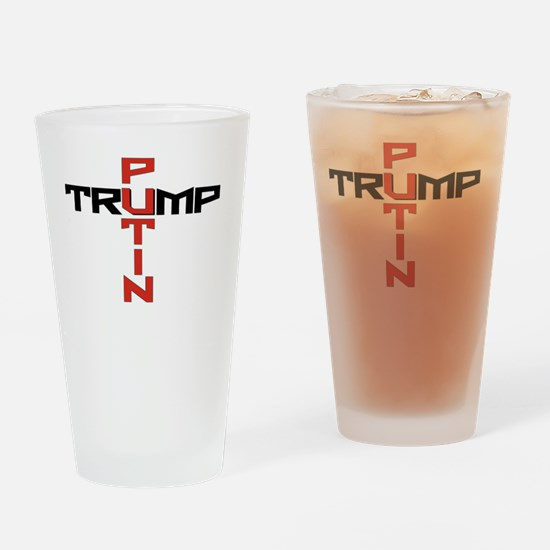 Funny Dictator russian Drinking Glass