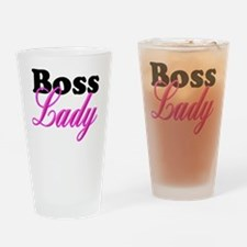 Cute Boss lady Drinking Glass