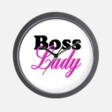 Boss Lady Wall Clock