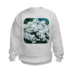 Phlox White Sweatshirt