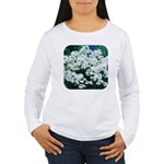 Phlox White Women's Long Sleeve T-Shirt