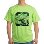 Phlox White Green T-Shirt