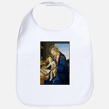 Sandro Botticelli - The Virgin and Child Baby Bib