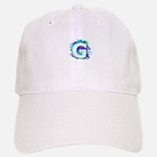 G (Ink Spots) (Blue) Baseball Baseball Cap