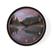 Scenic River Wall Clock