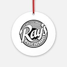Ray's Music Exchange Round Ornament