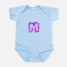 M (Ink Spots) (Pink) Body Suit