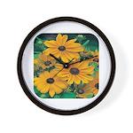 Rudbeckia - Black Eye Susan Wall Clock