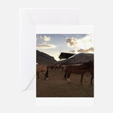 The Cody Wyoming Broncos Greeting Cards