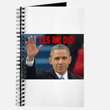 YES WE DID! Journal