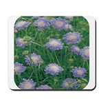 Scabiosa Blue Mousepad