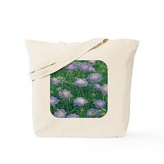 Scabiosa Blue Tote Bag