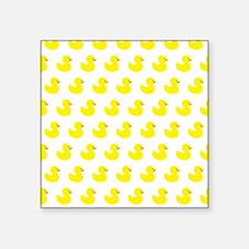 Rubber Ducky Pattern Sticker