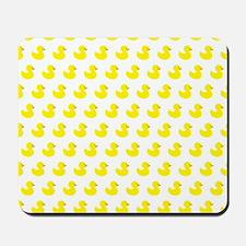 Rubber Ducky Pattern Mousepad