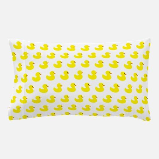 Rubber Ducky Pattern Pillow Case
