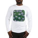 Scabiosa Blue Long Sleeve T-Shirt