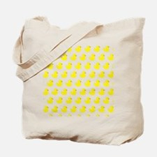 Rubber Ducky Pattern Tote Bag