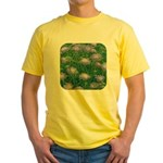 Scabiosa Blue Yellow T-Shirt