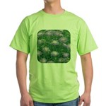 Scabiosa Blue Green T-Shirt