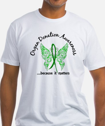 Organ Donation Butterfly 6.1 T-Shirt