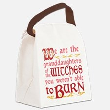 Granddaughters of Witches Canvas Lunch Bag