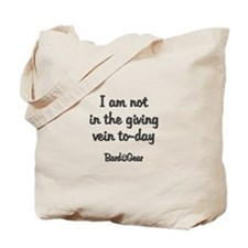 Giving Vein Tote Bag