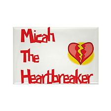 Micah the Heartbreaker Rectangle Magnet (10 pack)