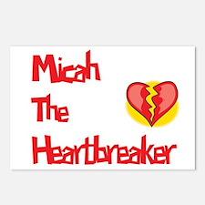 Micah the Heartbreaker  Postcards (Package of 8)