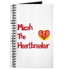 Micah the Heartbreaker Journal