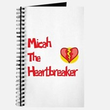 Micah the Heartbreaker Journal