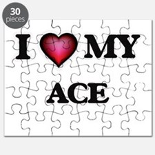 I love Ace Puzzle