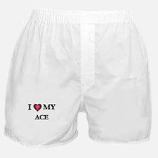 I love Ace Boxer Shorts