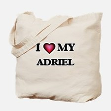 I love Adriel Tote Bag