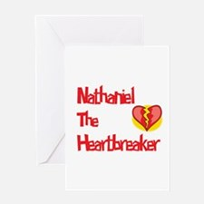 Nathaniel the Heartbreaker Greeting Card