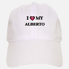 I love Alberto Baseball Baseball Cap