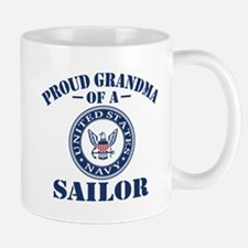 Proud Grandma Of A US Navy Sailor Mug