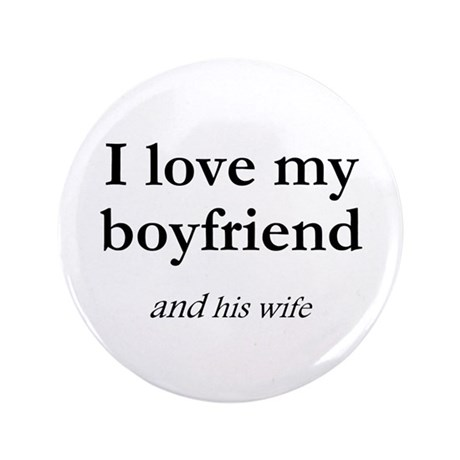 "Boyfriend/his wife 3.5"" Button (100 pack)"
