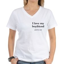 Boyfriend/his wife Shirt
