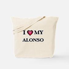 I love Alonso Tote Bag