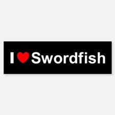 Swordfish Sticker (Bumper)