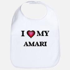 I love Amari Baby Bib