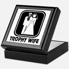 Trophy Wife Keepsake Box